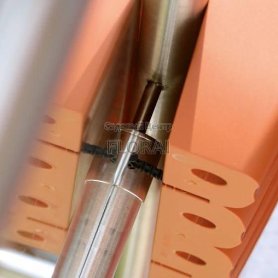 Балконный ящик Кроун L600мм 18 л белый