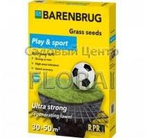 Газонная трава Barenbrug Play & Sport. Выбор фасовки (1кг, 5 кг)