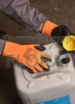 Перчатки Маслобензостойкие D-OIL трикотажные с нитриловым покрытием, р. 10. Выбор расцветок
