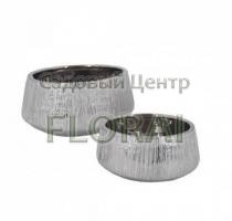 "Вазон HA-125034-S, серия ""Серебряная царапина"". Выбор размера"