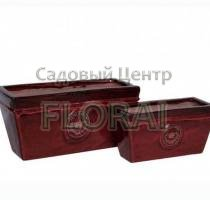 Вазон Kasten ROYAL GARDEN RED MP-1005-R. Выбор размера