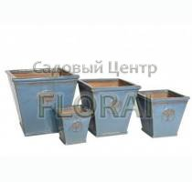 Вазон Kübel HERITAGE GARDEN AZUR BLUE MP-7547-B. Выбор размера