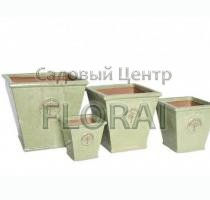 Вазон Kübel HERITAGE GARDEN LIND GREEN MP-7547-LG. Выбор размера