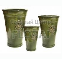 Вазон Vase ROYAL GARDEN GREEN MP-7548-G. Выбор размера