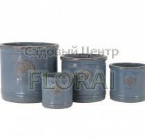 Вазон HERITAGE GARDEN AZUR BLUE MP-8065-B. Выбор размера