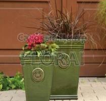 Вазон Vase ROYAL GARDEN GREEN MP-7548-G. Выбор размера