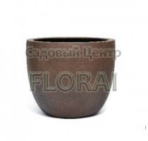 Вазон Kübel BIG POT ISI CONCRETE RUSTY IRON VD-3580-SC-RI/1   D65 H54