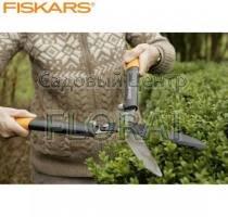 Ножницы для кустов с рычагом Fiskars PowerGear Steel (114770)