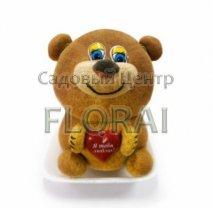 Декор ТРАВЯНЧИК  Медведь с сердечком