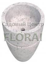 Раковина напольная бетонная