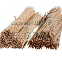 Бамбуковый прут для цветов, D3мм, высота 0,3м