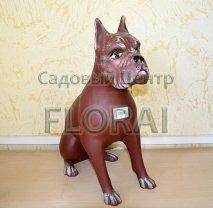 Декор скульптура Собака Тайсон