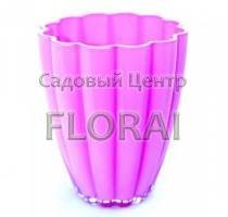 Кашпо стекло Ismena светло-розовое