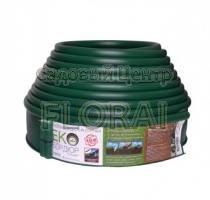 Лента бордюрная зеленая Екобордюр Стандарт 110ммх10м