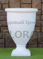 Вазон Аркадия  75х100 см травертин