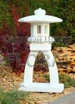 Садовый фонарь «Lanterna» из бетона, цвет травертин