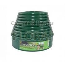 Лента бордюрная зеленая Екобордюр Оптимальный 103ммх10м