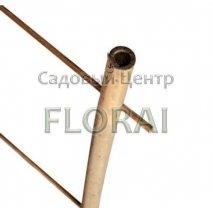 Бамбуковая лесенка для растений 2 опоры, высота 2,1 м. Выбор диаметра