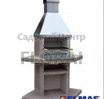Камин ELMAS Классик угловой, гранит-нержавейка, арт 151301