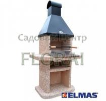 Камин ELMAS Классик Эксклюзив мрамор / металл арт. 44117