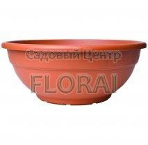 Вазон Bowl Andromeda terracotta (17-80 cм). Выбор размера